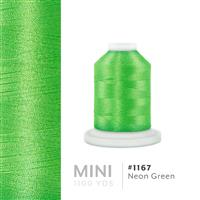 Neon Green # 1167 Iris Polyester Embroidery Thread - 1100 Yds THUMBNAIL