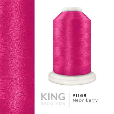 Neon Berry # 1169 Iris Trilobal Polyester Thread - 5500 Yds MAIN