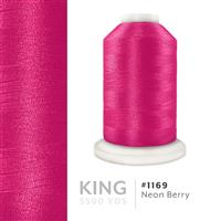 Neon Berry # 1169 Iris Trilobal Polyester Machine Embroidery & Quilting Thread - 5500 Yds THUMBNAIL