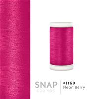 Neon Berry # 1169 Iris Polyester Embroidery Thread - 600 Yd Snap Spool THUMBNAIL