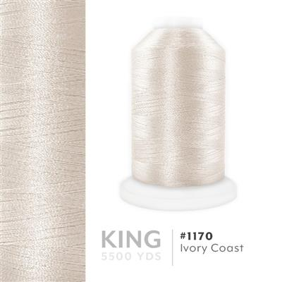 Ivory Coast # 1170 Iris Trilobal Polyester Thread - 5500 Yds MAIN