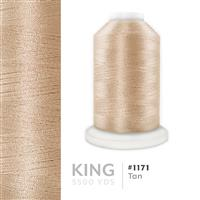 Tan # 1171 Iris Trilobal Polyester Machine Embroidery & Quilting Thread - 5500 Yds THUMBNAIL