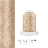 Tan # 1171 Iris Polyester Embroidery Thread - 1100 Yds THUMBNAIL