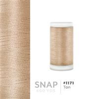 Tan # 1171 Iris Polyester Embroidery Thread - 600 Yd Snap Spool THUMBNAIL