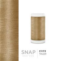 Taupe # 1172 Iris Polyester Embroidery Thread - 600 Yd Snap Spool THUMBNAIL