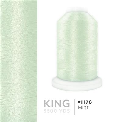 Mint # 1178 Iris Trilobal Polyester Thread - 5500 Yds MAIN