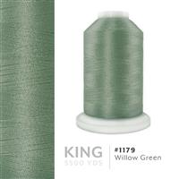 Willow Green # 1179 Iris Trilobal Polyester Machine Embroidery & Quilting Thread - 5500 Yds THUMBNAIL