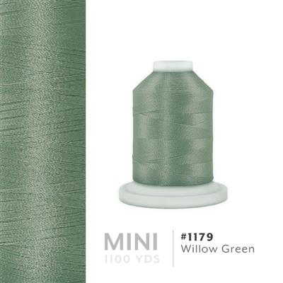 Willow Green # 1179 Iris Polyester Embroidery Thread - 1100 Yds MAIN