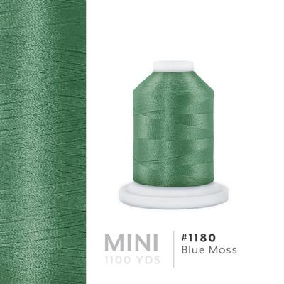 Blue Moss # 1180 Iris Polyester Embroidery Thread - 1100 Yds MAIN
