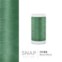 Blue Moss # 1180 Iris Polyester Embroidery Thread - 600 Yd Snap Spool THUMBNAIL