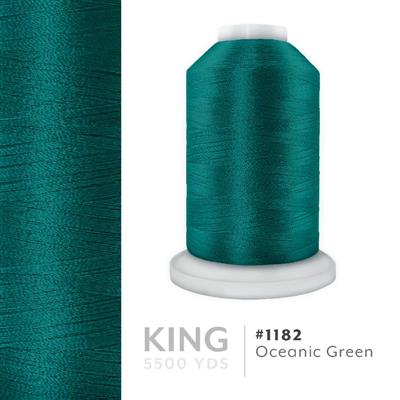 Oceanic Green # 1182 Iris Trilobal Polyester Thread - 5500 Yds MAIN