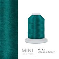 Oceanic Green # 1182 Iris Polyester Embroidery Thread - 1100 Yds THUMBNAIL