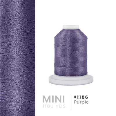 Purple # 1186 Iris Polyester Embroidery Thread - 1100 Yds MAIN