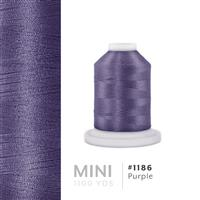 Purple # 1186 Iris Polyester Embroidery Thread - 1100 Yds THUMBNAIL