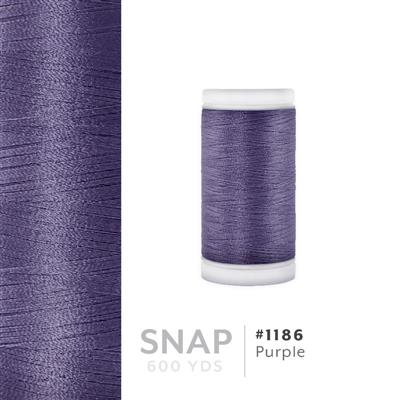 Purple # 1186 Iris Polyester Embroidery Thread - 600 Yd Snap Spool MAIN