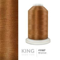 Bronze # 1187 Iris Trilobal Polyester Machine Embroidery & Quilting Thread - 5500 Yds THUMBNAIL