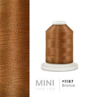 Bronze # 1187 Iris Polyester Embroidery Thread - 1100 Yds THUMBNAIL