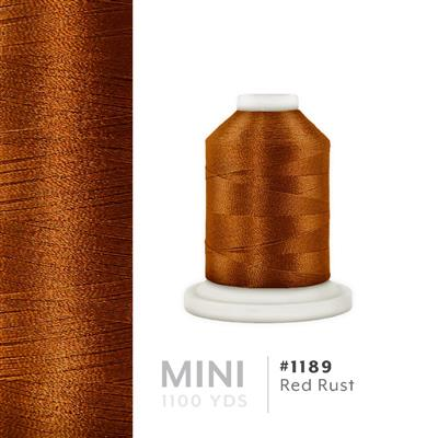 Red Rust # 1189 Iris Polyester Embroidery Thread - 1100 Yds MAIN