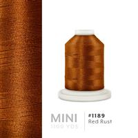 Red Rust # 1189 Iris Polyester Embroidery Thread - 1100 Yds THUMBNAIL