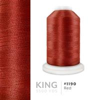 Red # 1190 Iris Trilobal Polyester Thread - 5500 Yds THUMBNAIL
