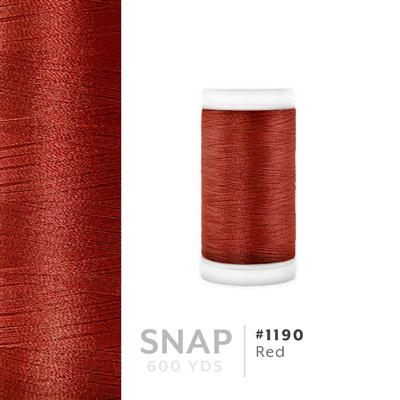 Red # 1190 Iris Polyester Embroidery Thread - 600 Yd Snap Spool MAIN