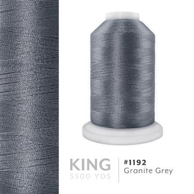 Granite Gray # 1192 Iris Trilobal Polyester Thread - 5500 Yds MAIN