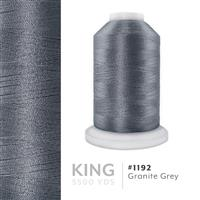 Granite Gray # 1192 Iris Trilobal Polyester Machine Embroidery & Quilting Thread - 5500 Yds THUMBNAIL