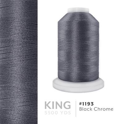Black Chrome # 1193 Iris Trilobal Polyester Thread - 5500 Yds MAIN