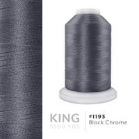 Black Chrome # 1193 Iris Trilobal Polyester Machine Embroidery & Quilting Thread - 5500 Yds THUMBNAIL