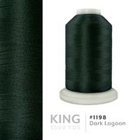 Dark Lagoon # 1198 Iris Trilobal Polyester Machine Embroidery & Quilting Thread - 5500 Yds THUMBNAIL