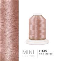 Pink Marble # 1203 Iris Polyester Embroidery Thread - 1100 Yds THUMBNAIL