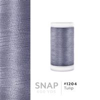 Tulip # 1204 Iris Polyester Embroidery Thread - 600 Yd Snap Spool THUMBNAIL