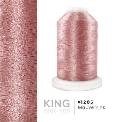 Mauve Pink # 1205 Iris Trilobal Polyester Thread - 5500 Yds MAIN