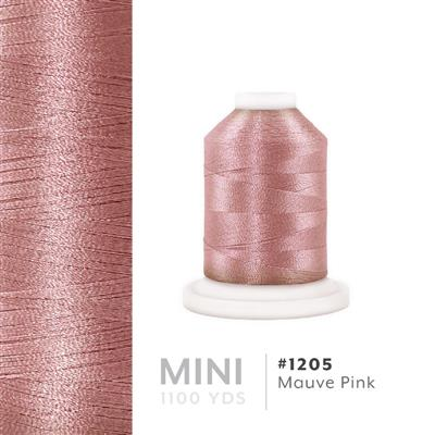 Mauve Pink # 1205 Iris Polyester Embroidery Thread - 1100 Yds MAIN