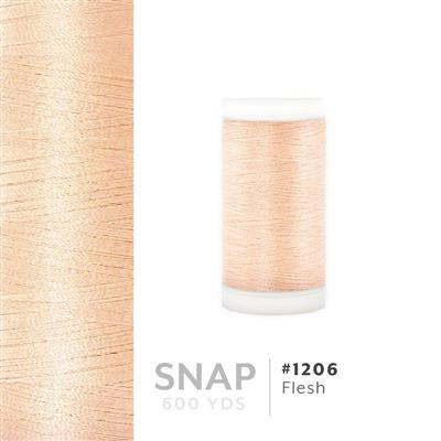 Flesh # 1206 Iris Polyester Embroidery Thread - 600 Yd Snap Spool MAIN