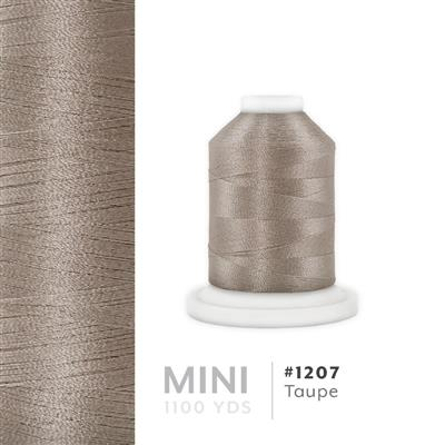 Taupe # 1207 Iris Polyester Embroidery Thread - 1100 Yds MAIN