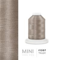 Taupe # 1207 Iris Polyester Embroidery Thread - 1100 Yds THUMBNAIL