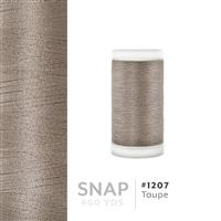 Taupe # 1207 Iris Polyester Embroidery Thread - 600 Yd Snap Spool THUMBNAIL