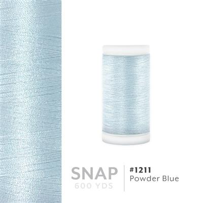 Powder Blue # 1211 Iris Polyester Embroidery Thread - 600 Yd Snap Spool MAIN
