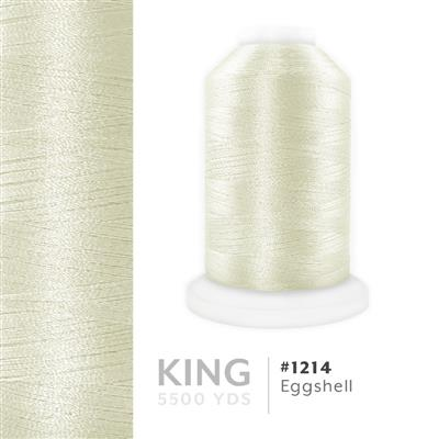 Eggshell # 1214 Iris Trilobal Polyester Thread - 5500 Yds MAIN