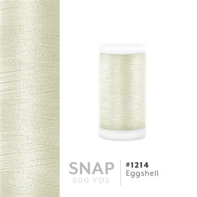 Eggshell # 1214 Iris Polyester Embroidery Thread - 600 Yd Snap Spool MAIN