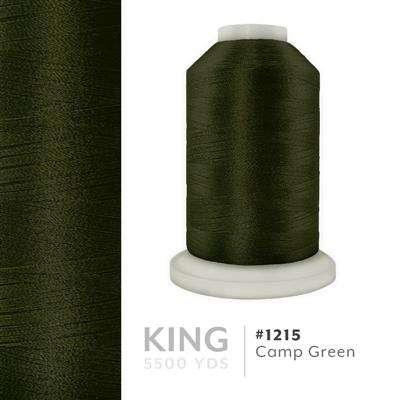 Camp Green # 1215 Iris Trilobal Polyester Thread - 5500 Yds MAIN