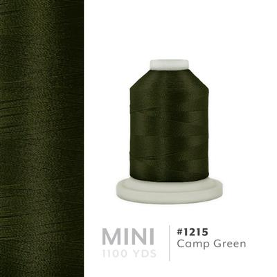 Camp Green # 1215 Iris Polyester Embroidery Thread - 1100 Yds MAIN
