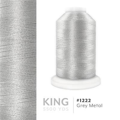 Grey Metal # 1222 Iris Trilobal Polyester Thread - 5500 Yds MAIN