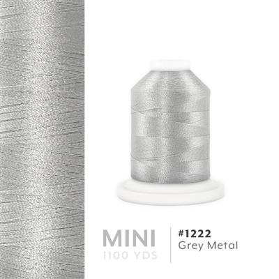 Grey Metal # 1222 Iris Polyester Embroidery Thread - 1100 Yds MAIN