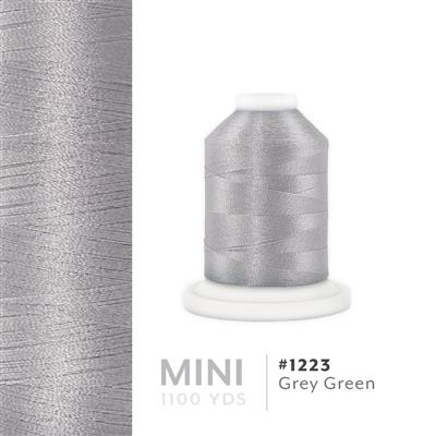 Grey Green # 1223 Iris Polyester Embroidery Thread - 1100 Yds MAIN