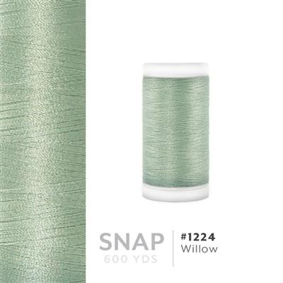 Willow # 1224 Iris Polyester Embroidery Thread - 600 Yd Snap Spool MAIN