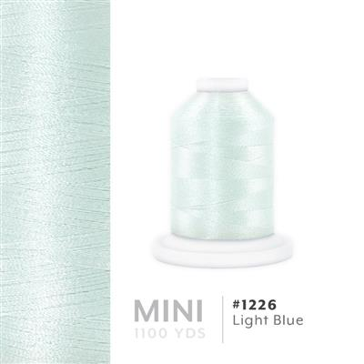 Light Blue # 1226 Iris Polyester Embroidery Thread - 1100 Yds MAIN