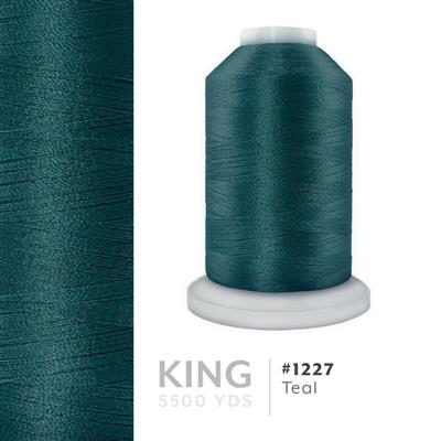 Teal # 1227 Iris Trilobal Polyester Thread - 5500 Yds MAIN