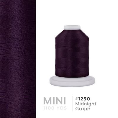Midnight Grape # 1230 Iris Polyester Embroidery Thread - 1100 Yds MAIN